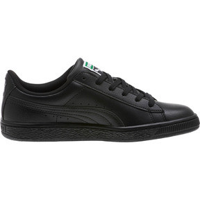 Miniatura 4 de Zapatos deportivos clásicos Basket JR, Puma Black-Puma Black, mediano