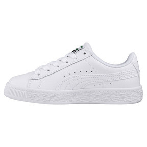Thumbnail 1 of Basket Classic Sneakers JR, Puma White-Puma White, medium