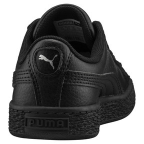 Thumbnail 3 of Basket Classic Kids' Trainers, Puma Black-Puma Black, medium