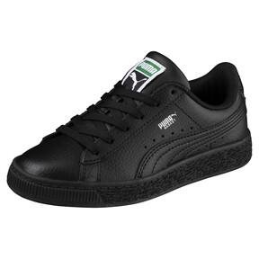 Thumbnail 2 of Basket Classic Sneakers PS, Puma Black-Puma Black, medium