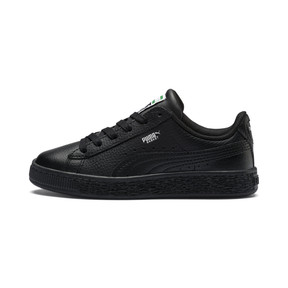 Thumbnail 1 of Basket Classic Kids' Trainers, Puma Black-Puma Black, medium