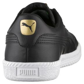 Thumbnail 4 of Astro Cup Leather Trainers, Puma Black-Puma Black, medium