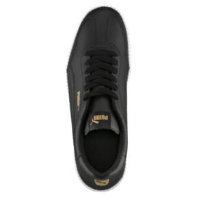 Thumbnail 5 of Astro Cup Leather Trainers, Puma Black-Puma Black, medium