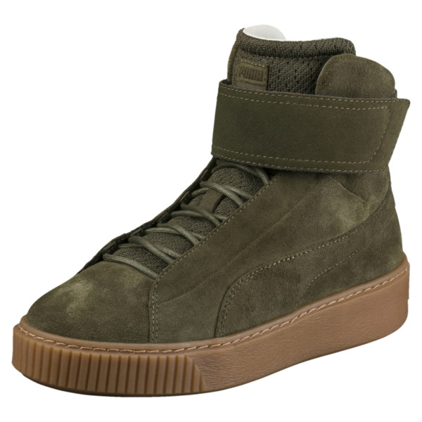 62ce40ac5da Platform Mid OW Women's High Top Sneakers, Olive Night-Olive Night, large