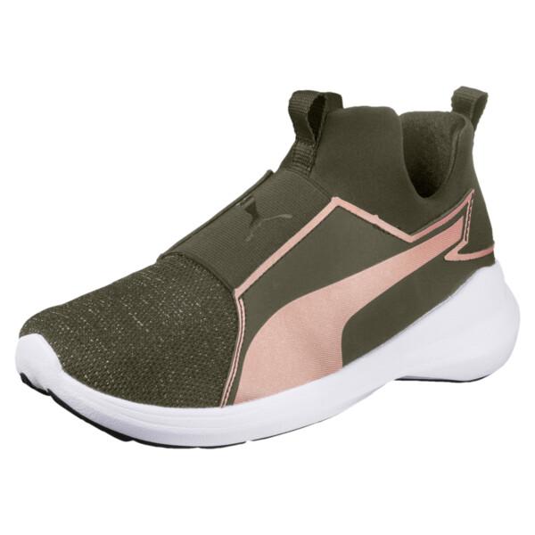 219ad51c86e59 Rebel Mid Gleam JR Training Shoes | PUMA Girls Shoes | PUMA United ...