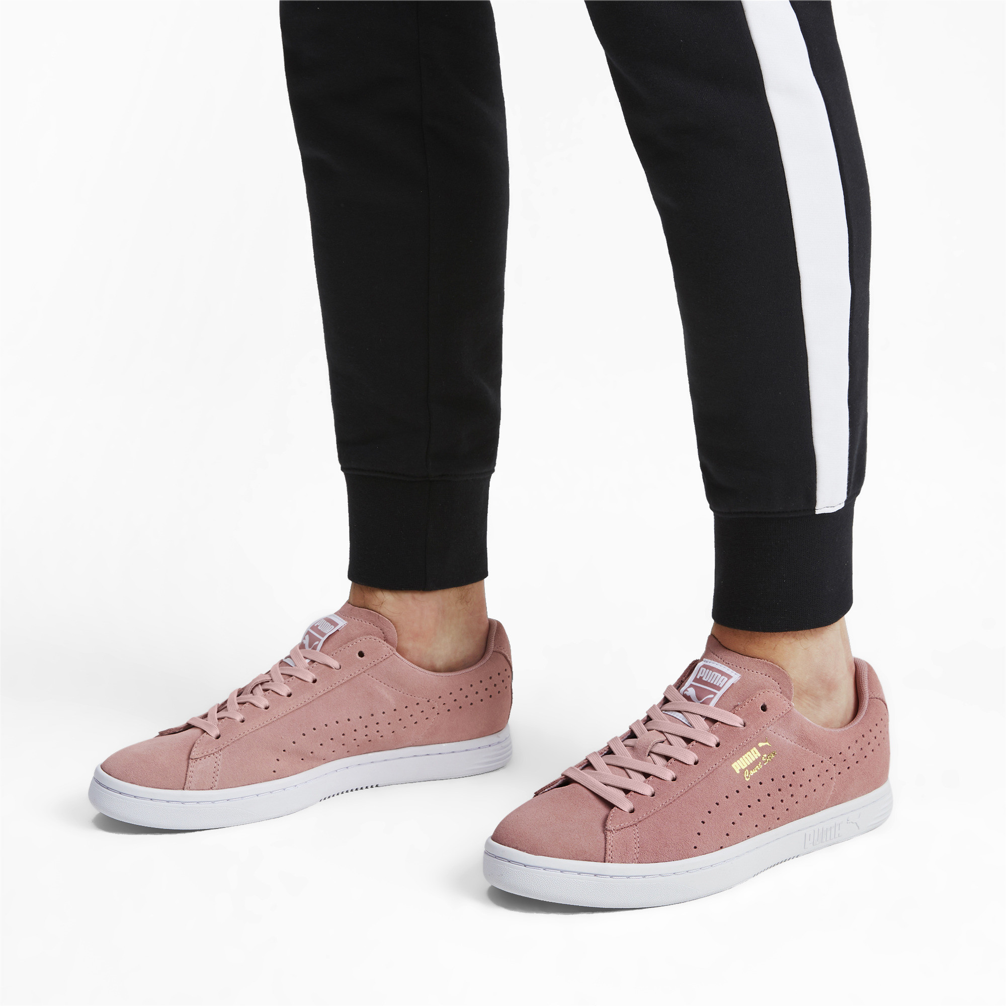 PUMA-Court-Star-Suede-Sneakers-Unisex-Shoe-Sport-Classics thumbnail 5