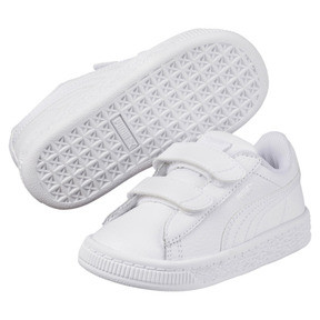 Thumbnail 2 of Basket Classic Baby Trainers, Puma White-Puma White, medium