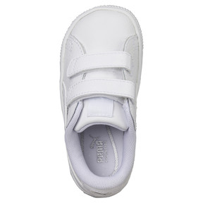 Thumbnail 5 of Basket Classic Baby Trainers, Puma White-Puma White, medium