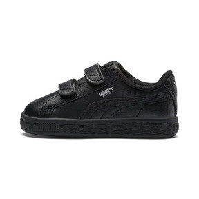 Thumbnail 1 of Basket Classic Baby Trainers, Puma Black-Puma Black, medium