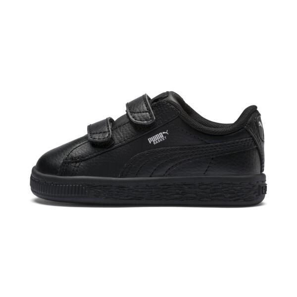 Basket Classic Baby Sneaker, Puma Black-Puma Black, large
