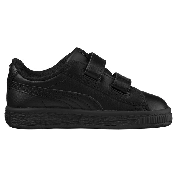 Basket Classic AC Toddler Shoes, Puma Black-Puma Black, large