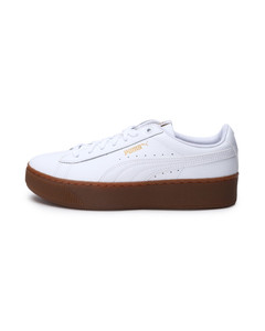 92668aa9c Image Puma Vikky Platform Leather Women s Trainers