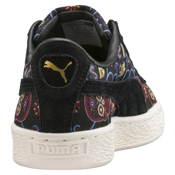 wholesale dealer 9cbbf fab48 Basket Classic Day Of The Dead JR Sneakers, Puma Black-Puma Black, large