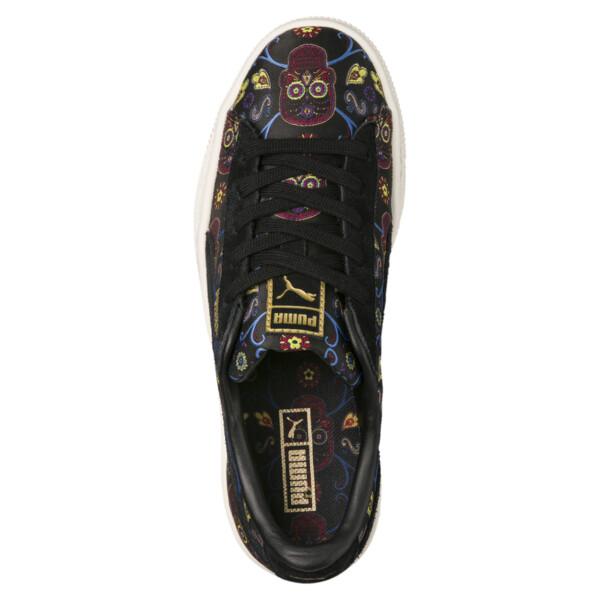 brand new 5f7ae 42397 Basket Classic Day Of The Dead JR Sneakers, Puma Black-Puma Black, large. ‹  ›