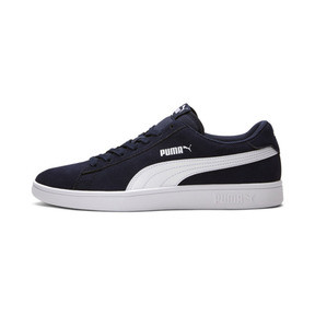 Thumbnail 1 of PUMA Smash v2 Sneakers, Peacoat-Puma White, medium