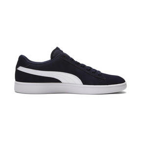 Thumbnail 5 of PUMA Smash v2 Sneakers, Peacoat-Puma White, medium