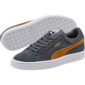 Thumbnail 2 of Suede Classic JR Sneakers, Iron Gate-Buckthorn, medium