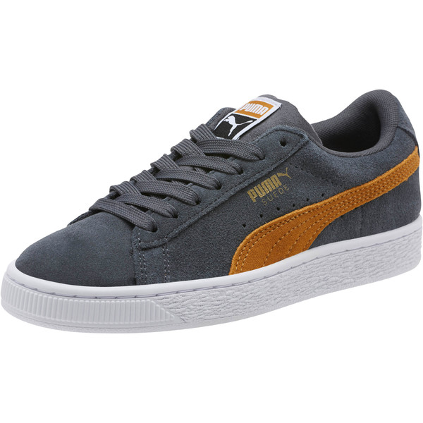 Suede Classic JR Sneakers, Iron Gate-Buckthorn, large