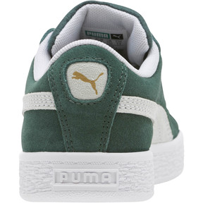Thumbnail 4 of Suede Classics Preschool Sneakers, Pineneedle-Puma White, medium