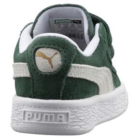 Thumbnail 4 of Suede Classic Kids' Trainers, Pineneedle-Puma White, medium