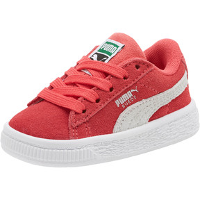 Thumbnail 1 of Suede Classic Toddler Shoes, Paradise Pink-Puma White, medium