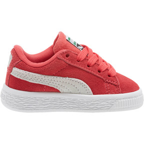 Thumbnail 3 of Suede Classic Toddler Shoes, Paradise Pink-Puma White, medium
