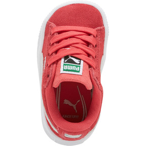 Thumbnail 5 of Suede Classic Toddler Shoes, Paradise Pink-Puma White, medium