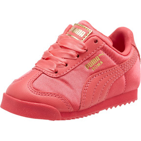 Thumbnail 1 of Roma Satin Infant Sneakers, Paradise Pink-Puma Team Gold, medium