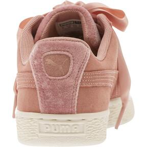 Thumbnail 4 of Suede Heart VR Women's Sneakers, Brown-Rose Gold-WhisperWhite, medium