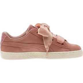 Thumbnail 3 of Suede Heart VR Women's Sneakers, Brown-Rose Gold-WhisperWhite, medium