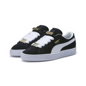 Thumbnail 2 of Suede Classic B-BOY Fabulous Kids' Trainers, Puma Black-Puma White, medium