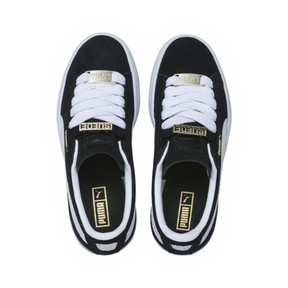 Thumbnail 5 of Suede Classic B-BOY Fabulous Kids' Trainers, Puma Black-Puma White, medium