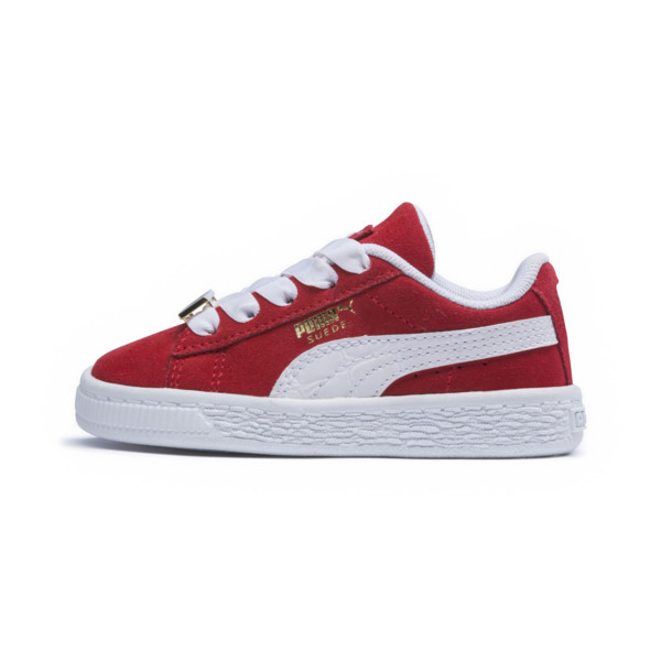 Suede Classic B-BOY Fabulous Baby Sneaker, Flame Scarlet-Puma White, large