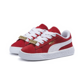 Thumbnail 2 of Suede Classic B-BOY Fabulous Baby Sneaker, Flame Scarlet-Puma White, medium