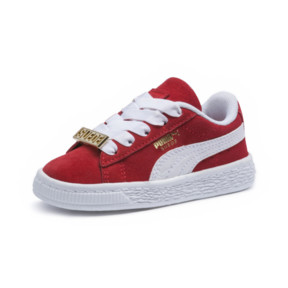 Thumbnail 1 of Suede Classic B-BOY Fabulous Baby Sneaker, Flame Scarlet-Puma White, medium