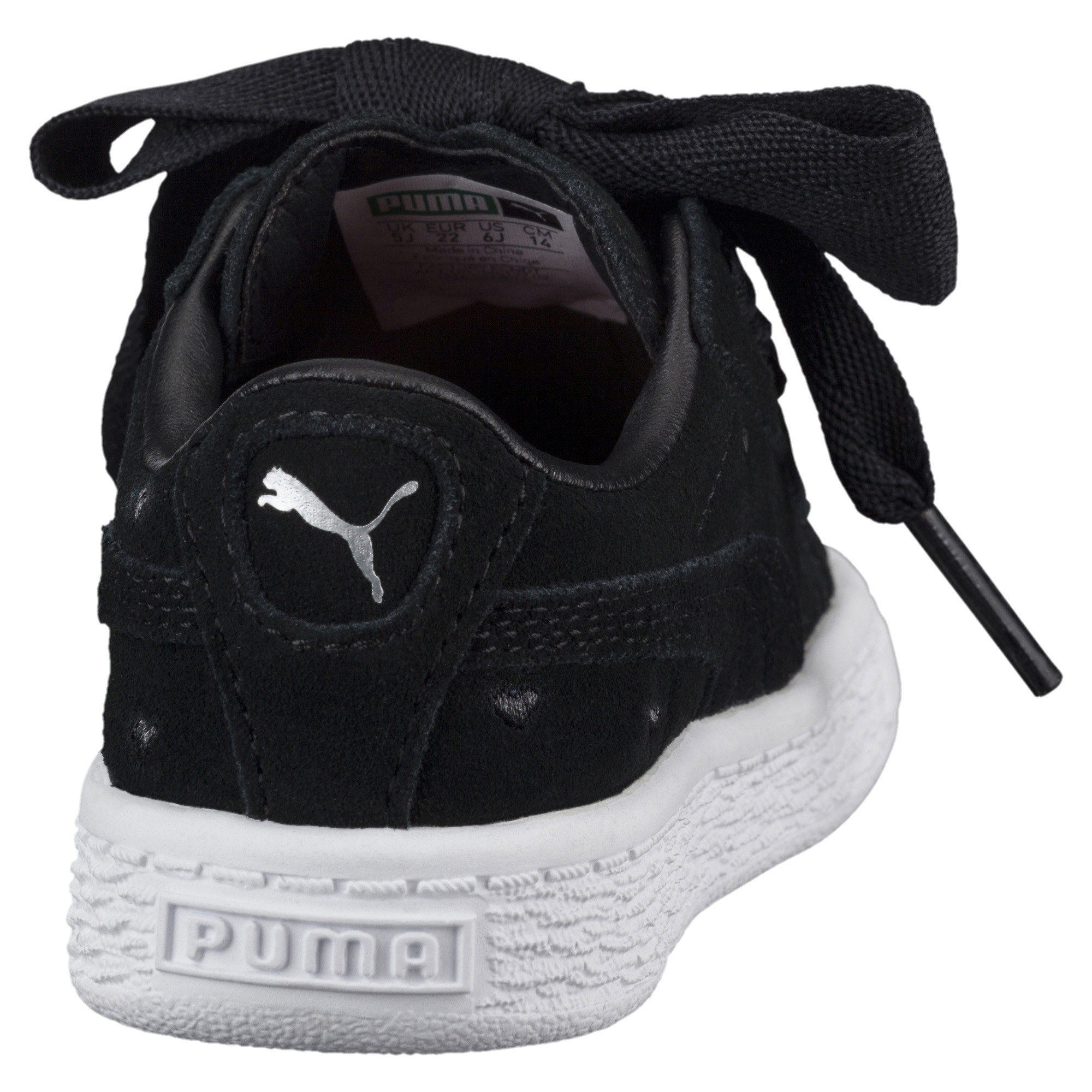Image Puma Kids' Baby Suede Heart Valentine Sneakers #4