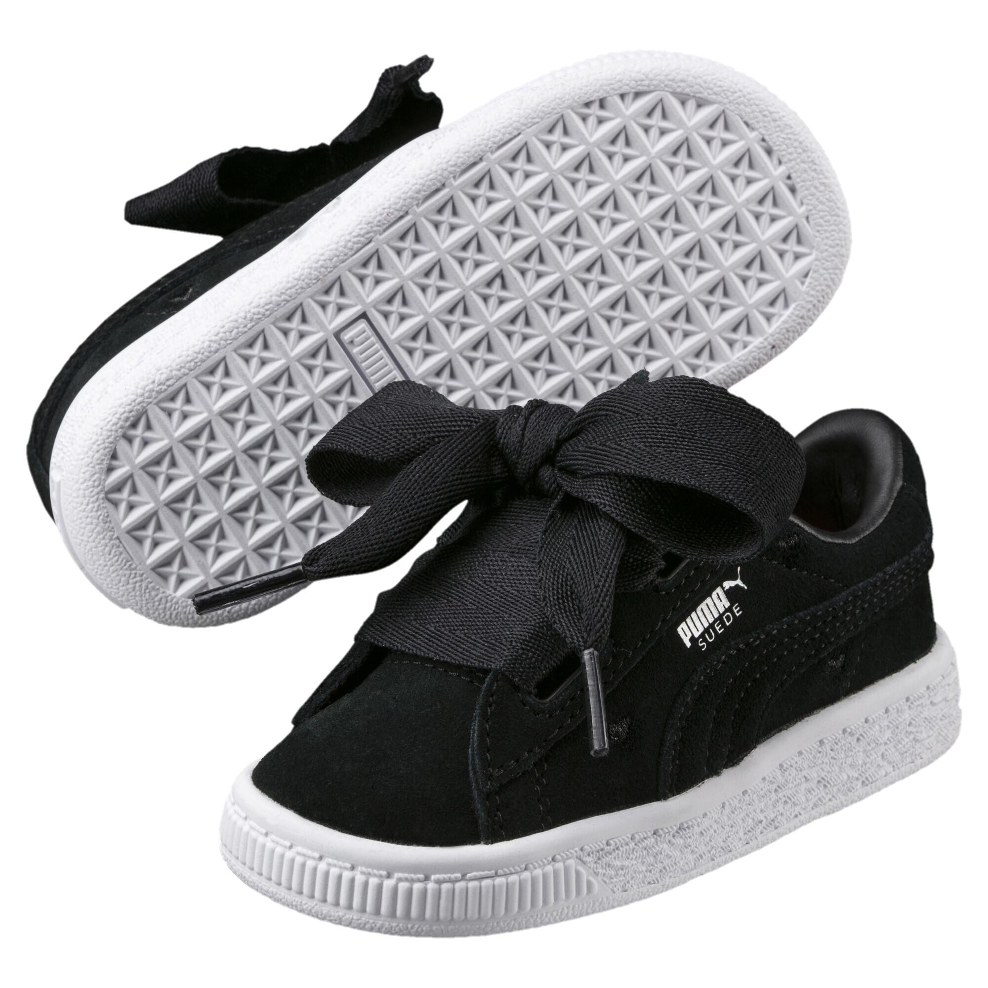 Image Puma Kids' Baby Suede Heart Valentine Sneakers #2