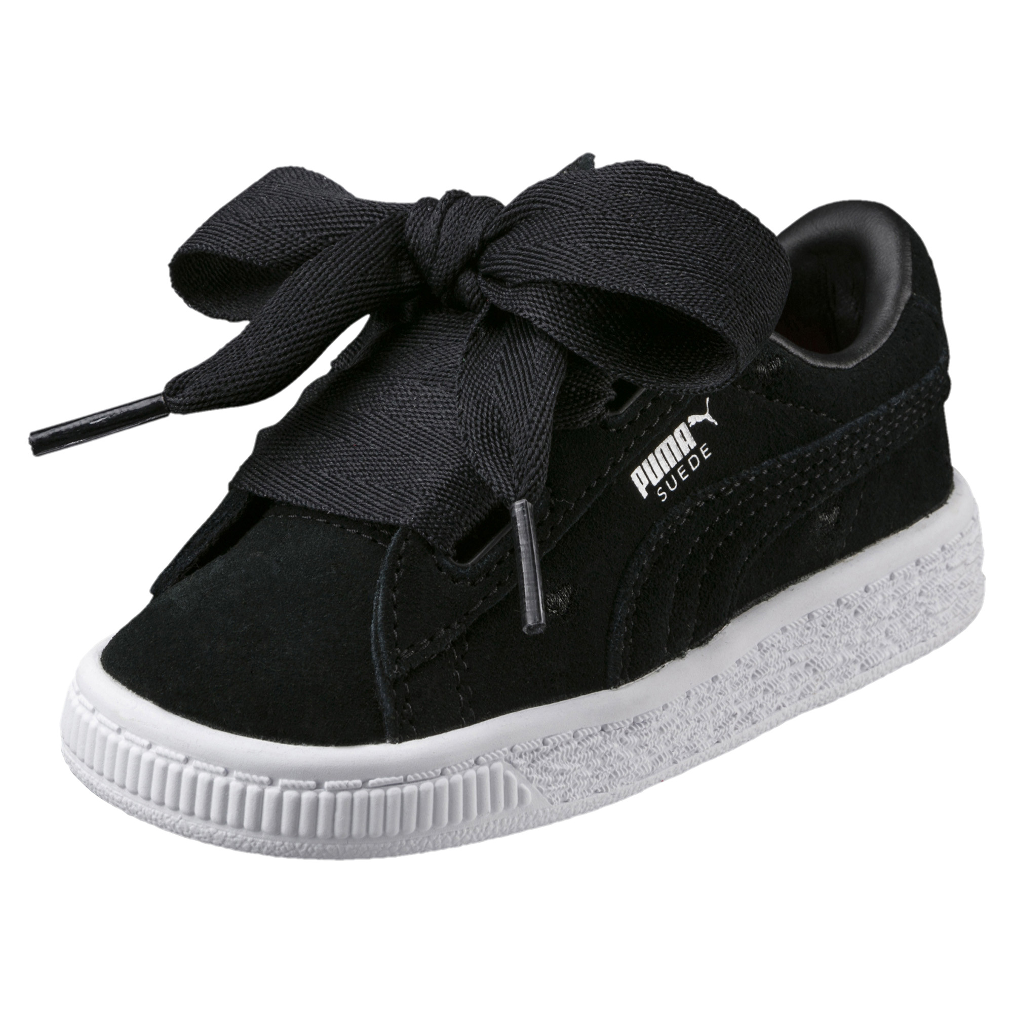 Image Puma Kids' Baby Suede Heart Valentine Sneakers #1