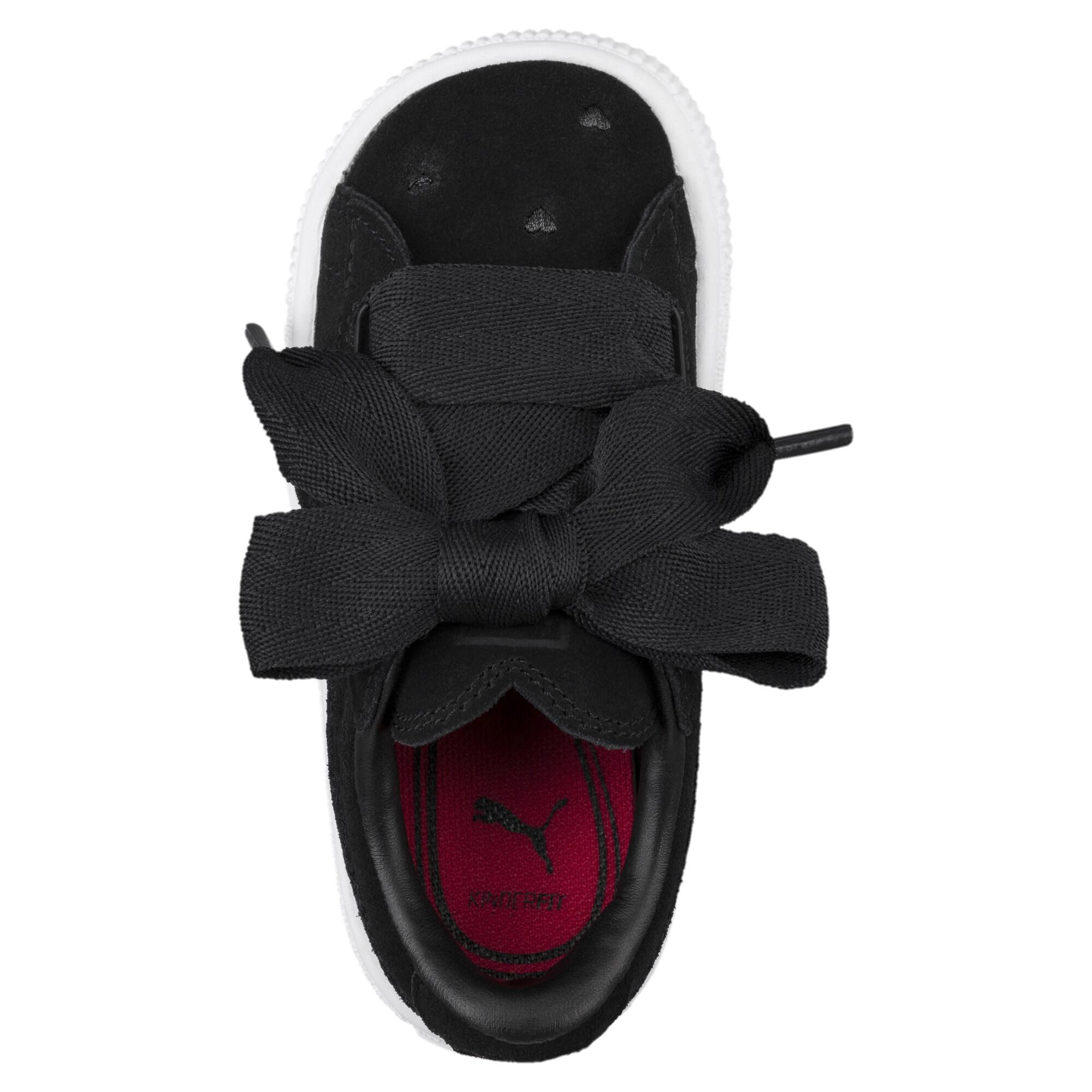 Image Puma Kids' Baby Suede Heart Valentine Sneakers #5