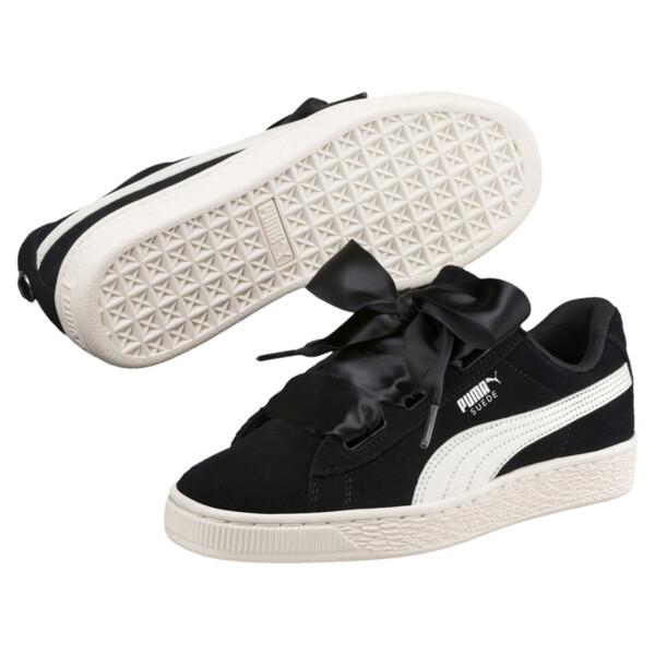 online store 0333e e1620 Suede Heart Jewel Sneakers JR