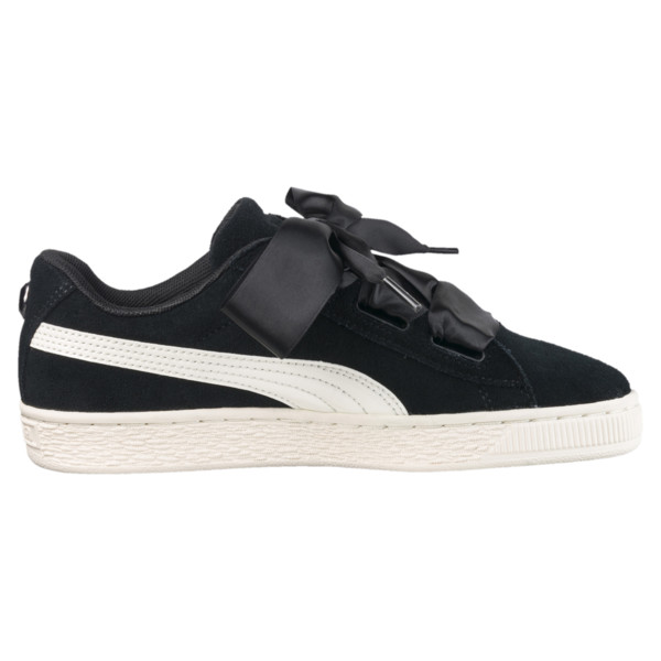 Suede Heart Jewel Sneakers JR