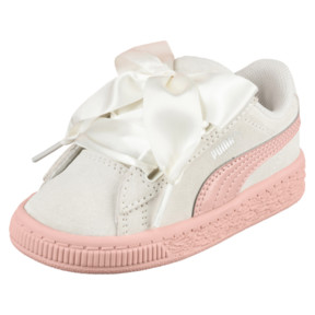 Suede Heart Jewel Little Kids' Shoes