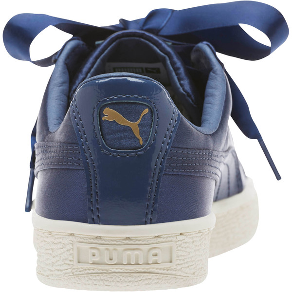 Basket Heart Tween JR Sneakers, Sargasso Sea-Sargasso Sea, large