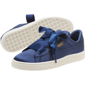 Thumbnail 2 of Basket Heart Tween JR Sneakers, Sargasso Sea-Sargasso Sea, medium