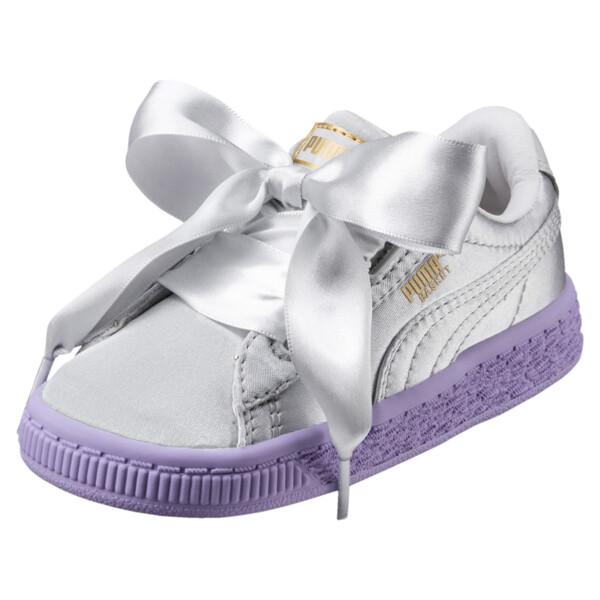 meet bb01c 2eebf Basket Heart Toddler Shoes