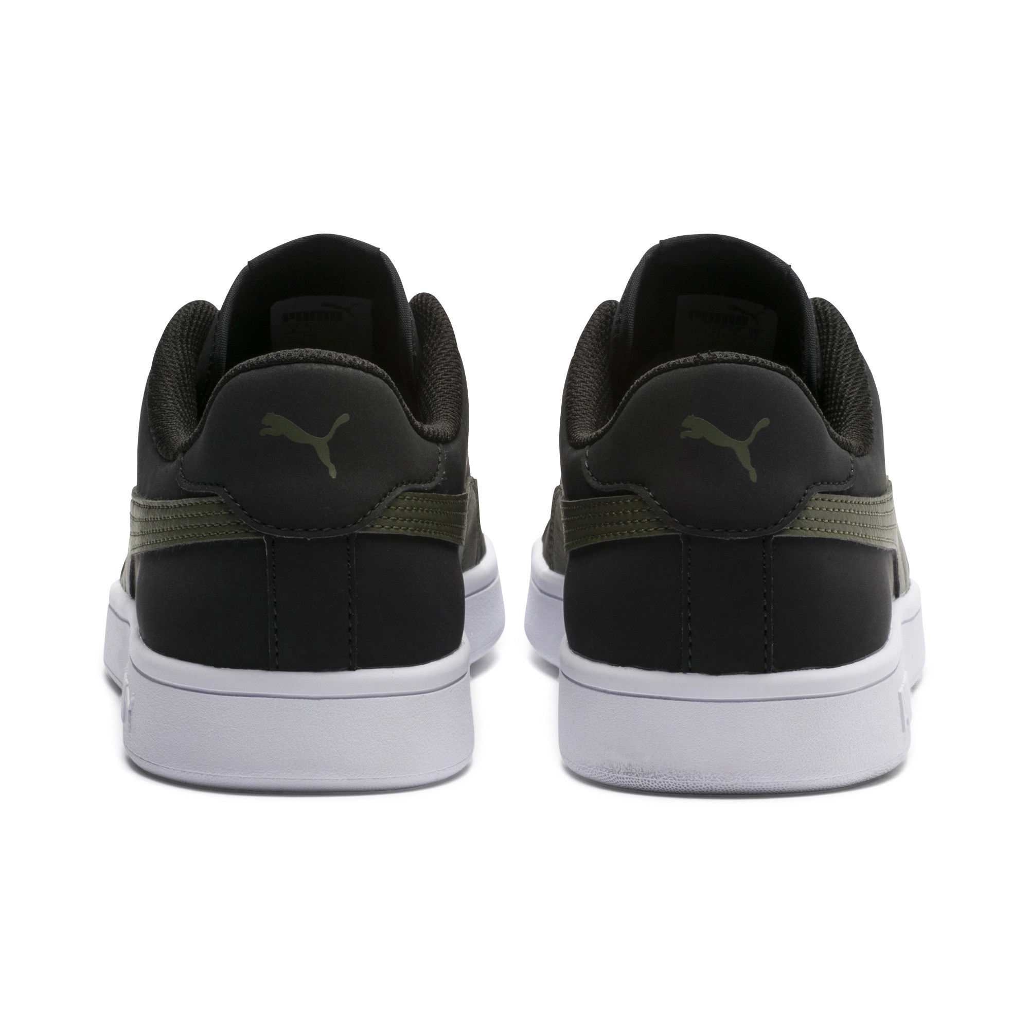PUMA-PUMA-Smash-v2-Nubuck-Men-039-s-Sneakers-Men-Shoe-Basics thumbnail 3