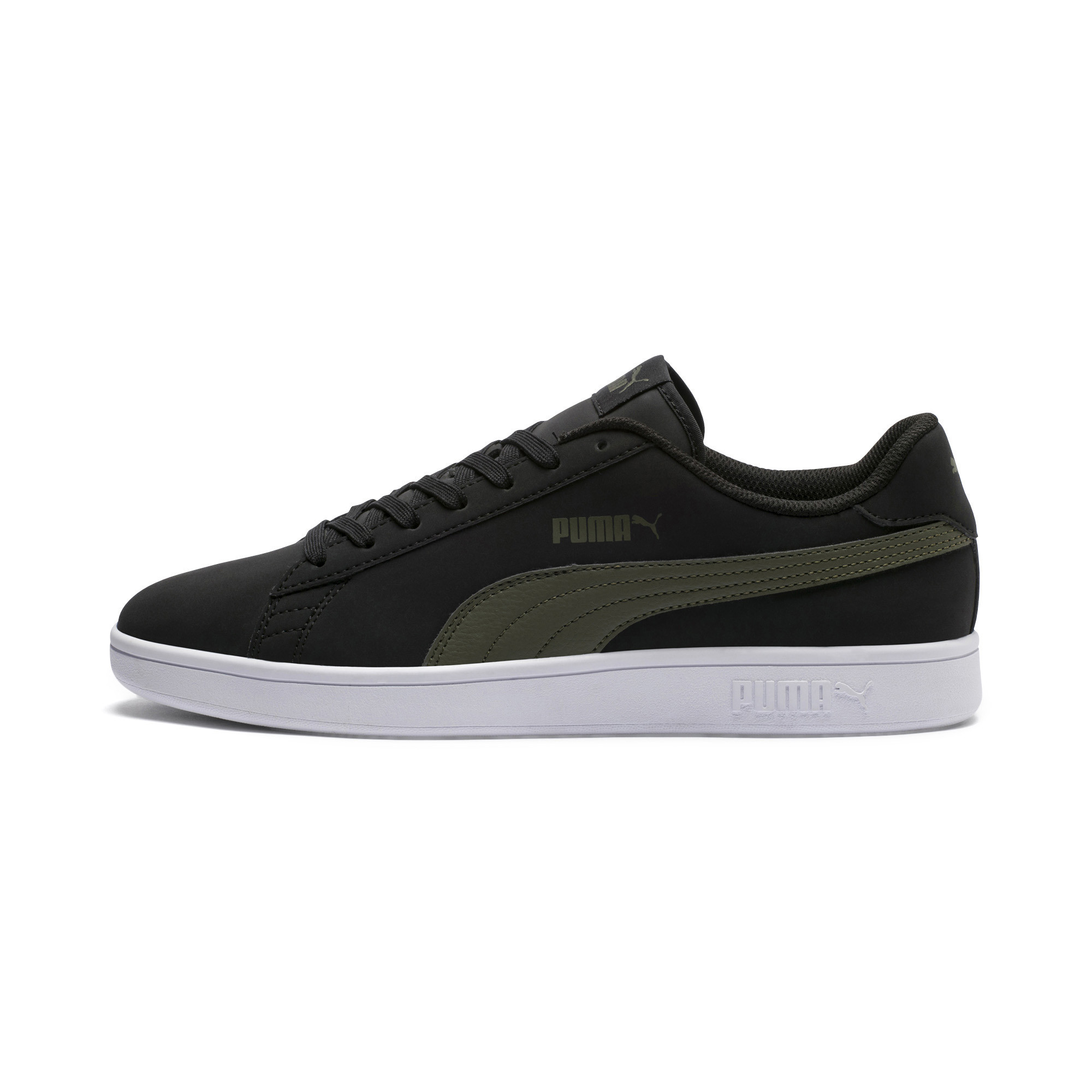 PUMA-PUMA-Smash-v2-Nubuck-Men-039-s-Sneakers-Men-Shoe-Basics thumbnail 4