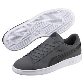 Thumbnail 2 of PUMA Smash V2 Buck Sneakers, Iron Gate-Puma Black, medium
