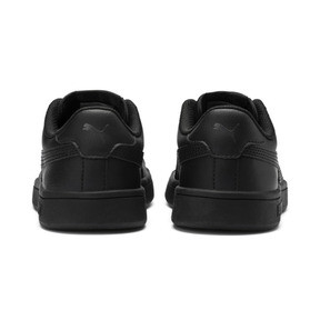 Thumbnail 3 of PUMA Smash v2 Leather Sneakers JR, Puma Black-Puma Black, medium