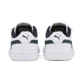 Thumbnail 3 of Smash v2 Leather Kids' Trainers, Puma White-Ponderosa Pine, medium